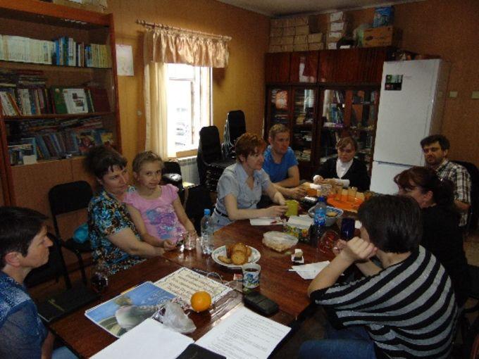 Родительский клуб в церкви «Славы Божией» г. Омск