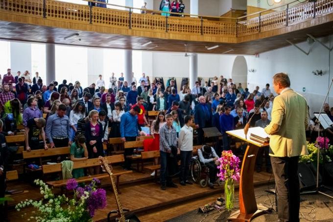 Активная жизнь церквей ЕХБ юга России