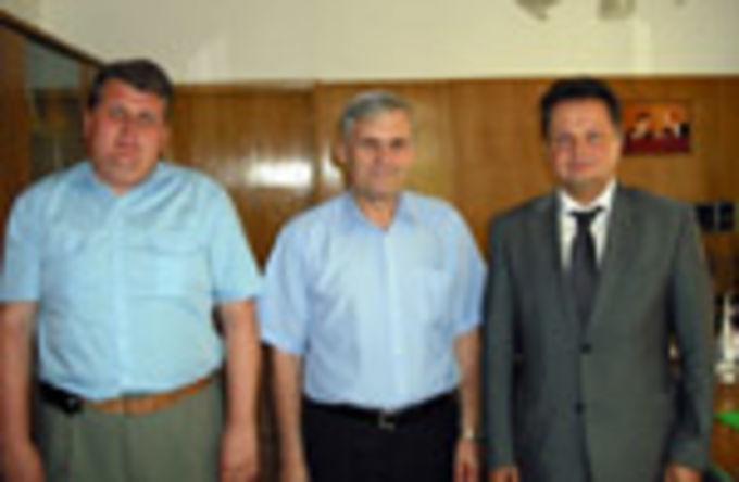 Председаль РС ЕХБ встретился с новым руководителем Комитета по связям с религиозными организациями г. Москвы