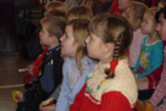 Рождественский праздник для детей Валдая