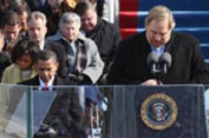 Баптистский пастор Рик Уоррен помолился за нового президента США