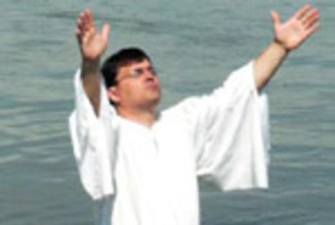 Крещение в Омской области