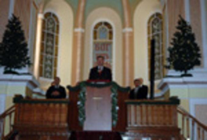 Рождество в Московской центральной церкви ЕХБ