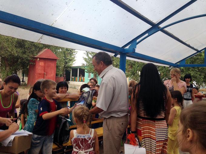 Помощь беженцам в Ростовской области