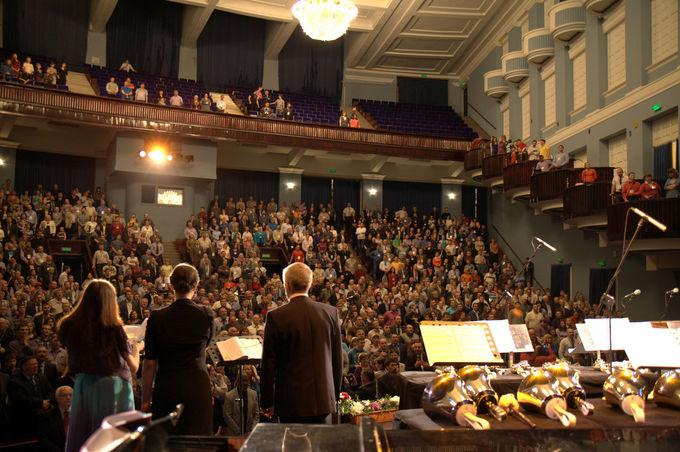Торжественное богослужение, посвященное XXXIV съезду РС ЕХБ