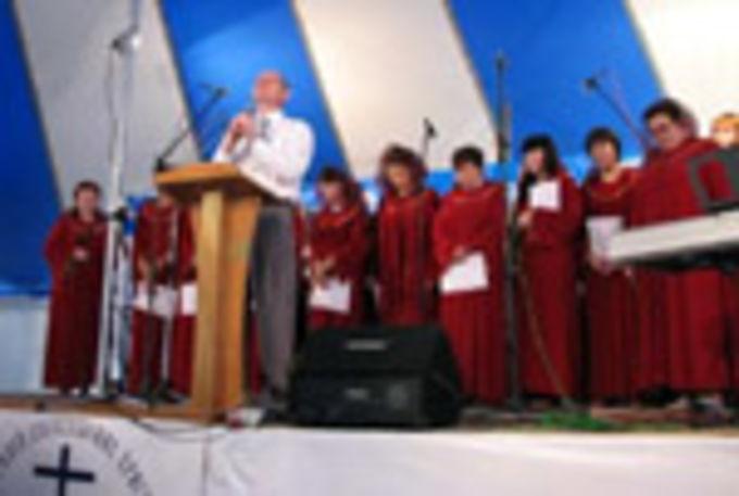 Первый конгресс Объединения церквей Омской области