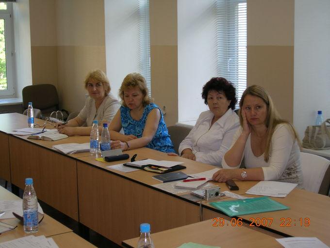 Встреча исполкома женского отдела