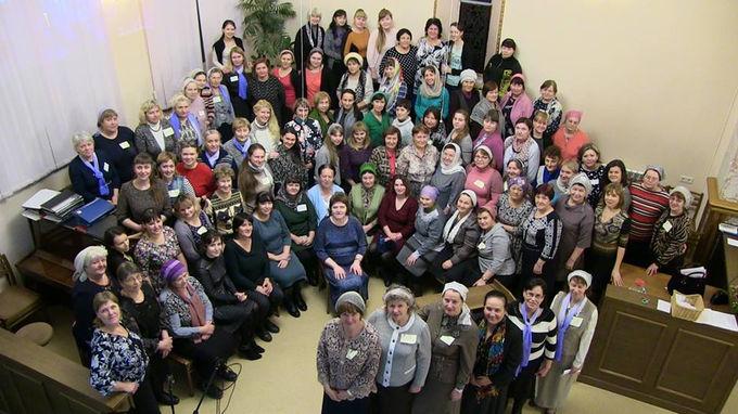 Региональная конференция сестер в Новосибирске