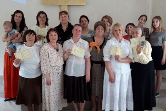 Выпускные в Центрах обучения женского служения в Иркутской области