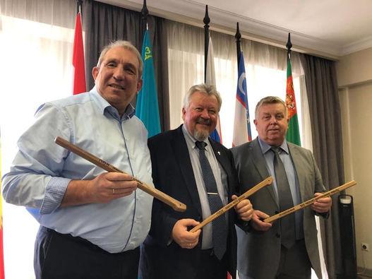 Фоторепортаж о поездке руководства РС ЕХБ в Узбекистан и Казахстан
