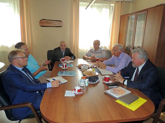 Встреча с представителями научной общественности