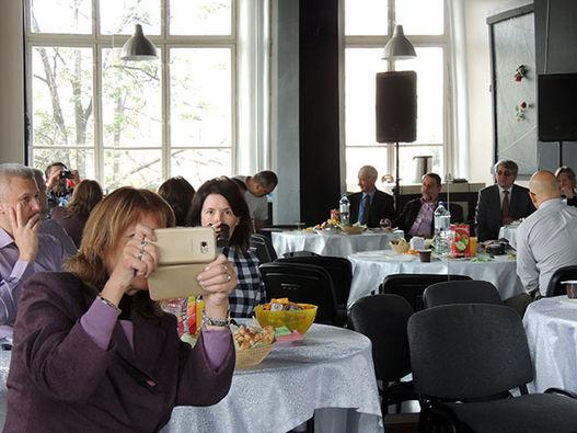 Фоторепортаж о встрече РЕА и КСГПЦР