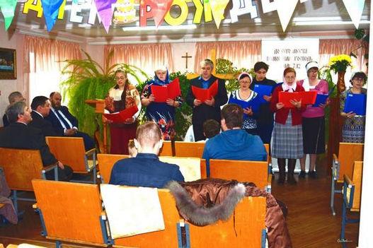 Фоторепортаж о 25-летии церкви в Гагарине