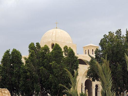 Восточный берег реки Иордан - место крещения Христа, январь 2020 г. - фоторепортаж
