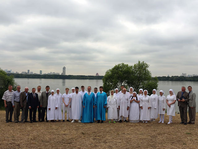 Moscow Baptism Photo Report