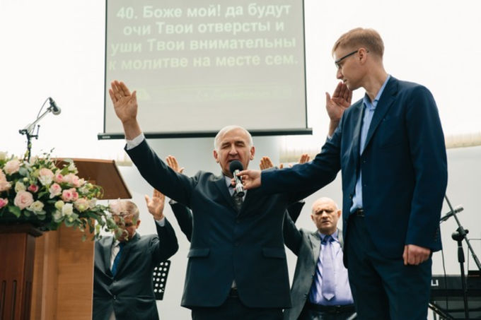 New House of Prayer Dedicated in Krasnoyarsk