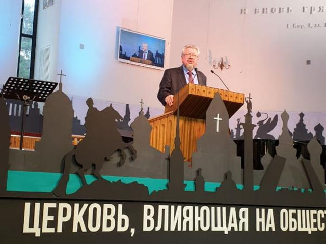 """The final day of the conference """"Church Affecting Society"""""""